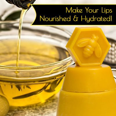 Beeswax and Olive Oil Lip Plumper Recipe