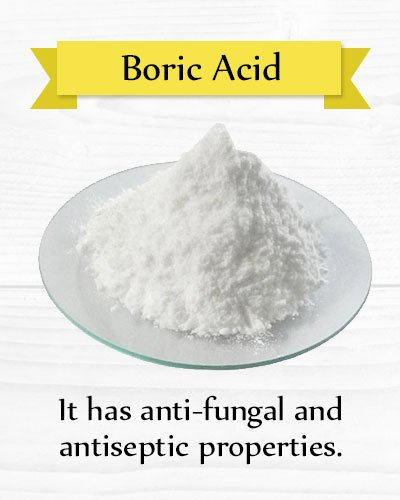 Boric Acid for Yeast Infection