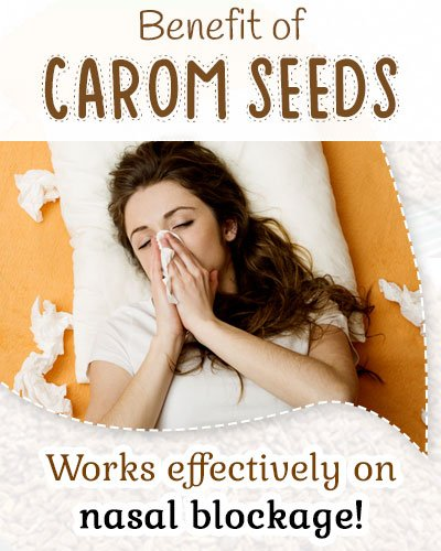 Carom Seeds Treats Respiratory Problems