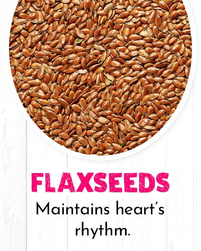 Flaxseeds For Healthy Heart