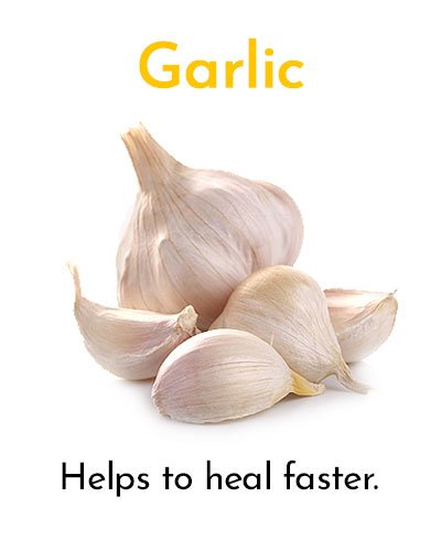 Garlic for Minor Cuts and Grazes