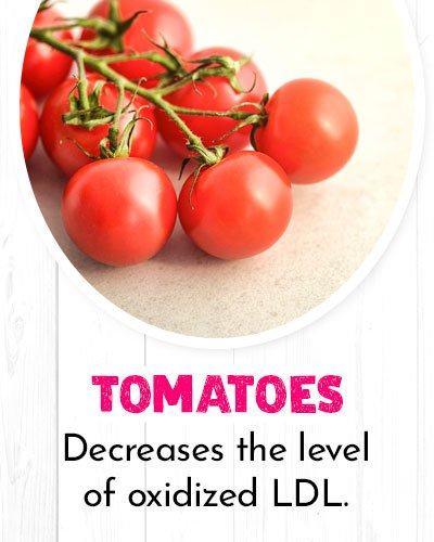 Tomatoes For Healthy Heart