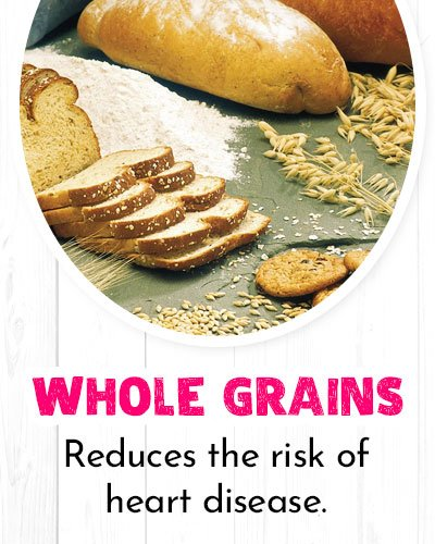 Whole Grains For Healthy Heart