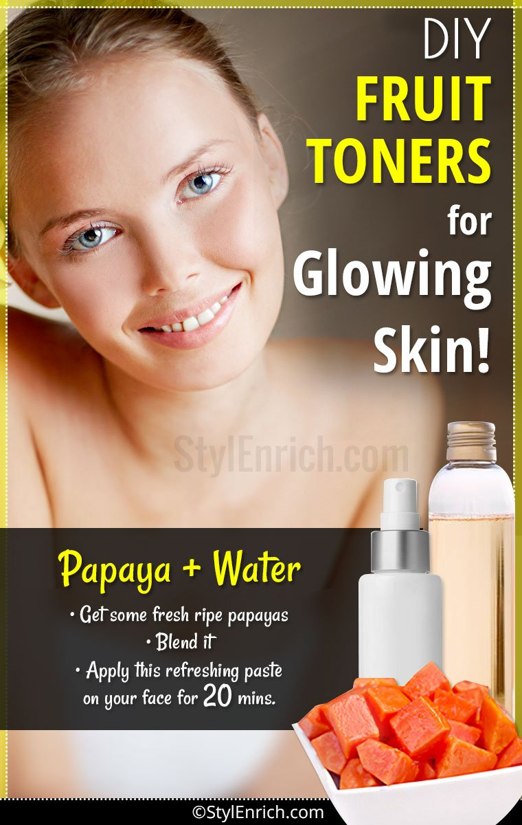 DIY Face Toner For Glowing Skin
