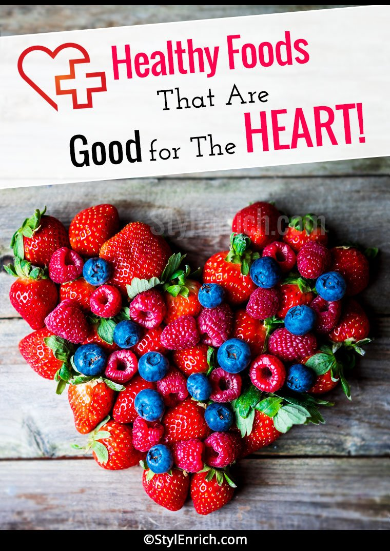 Heart Healthy Foods List