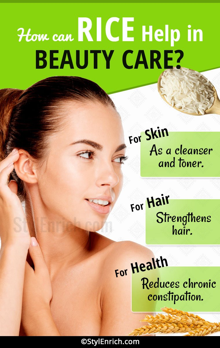 Rice Benefits for Skin and Hair