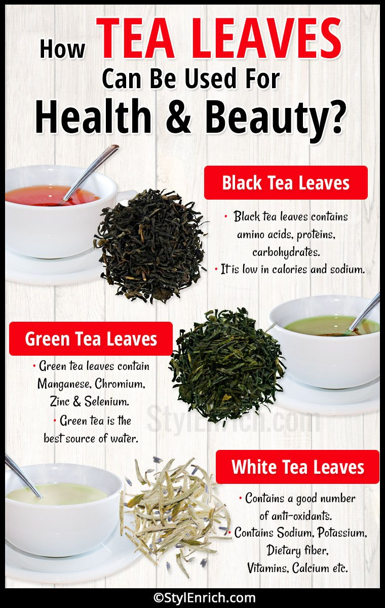 Tea Leaves Benefits