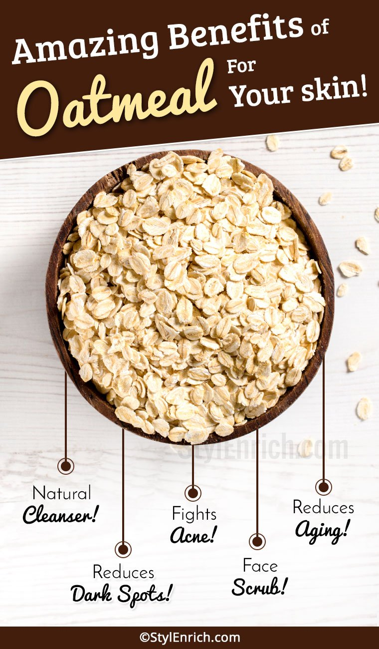 Oatmeal Benefits For Skin