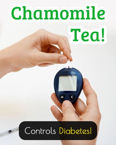 Chamomile Tea Controls Diabetes