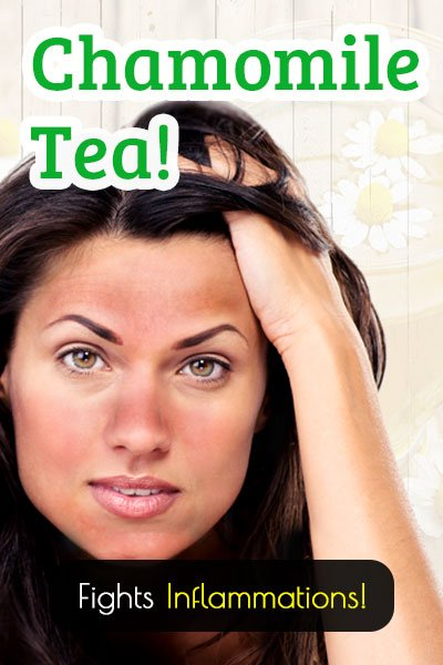 Chamomile Tea For Skin Inflammations