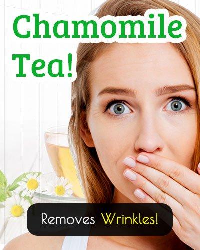Chamomile Tea For Wrinkles