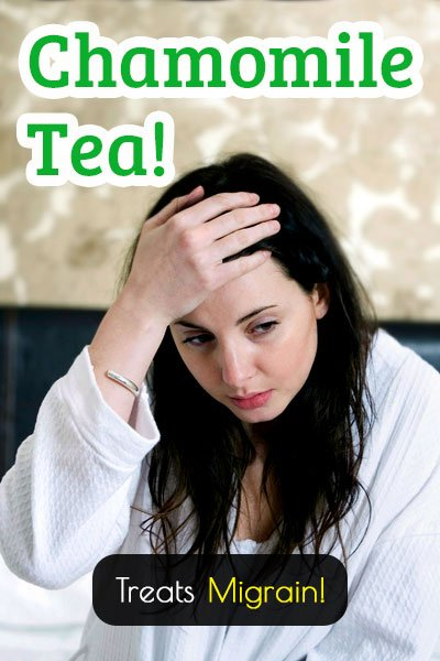 Chamomile Tea Treatment for Migraines