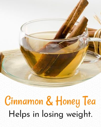 Cinnamon and Honey Tea For Weight Loss