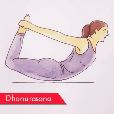 Dhanurasana to Get Rid Of Belly Fat