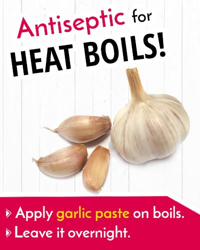 Garlic For Heat Boil