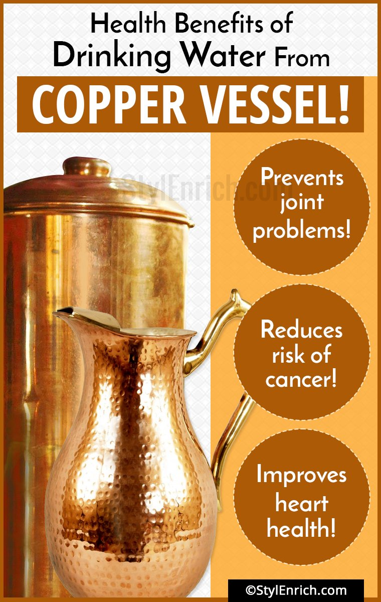 11 Health Benefits Of Drinking Water From Copper Vessel