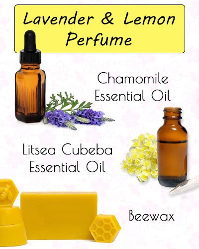 Lavender and Lemon Perfume