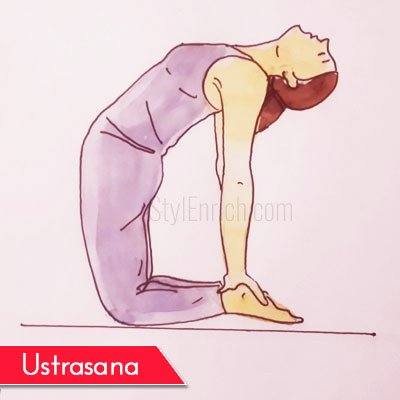 Ustrasana to Get Rid Of Belly Fat
