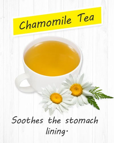 Chamomile Tea For Gastritis