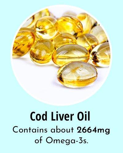 Cod Liver Oil Omega 3 Rich Foods