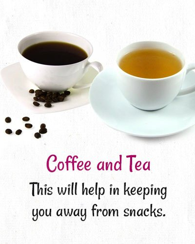 Coffee and Tea To Lose Weight