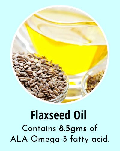 Flaxseed Oil Omega 3 Rich Foods