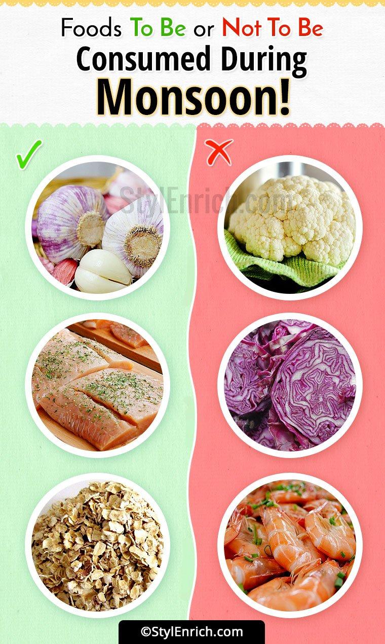 Best Food For Rainy Season
