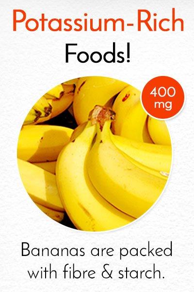 Potassium Rich Banana