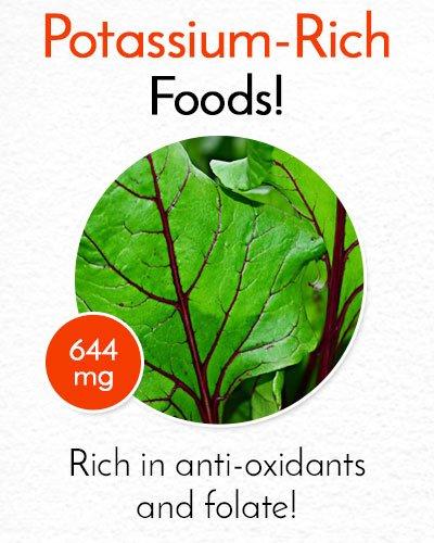 Potassium Rich Beet Leaves