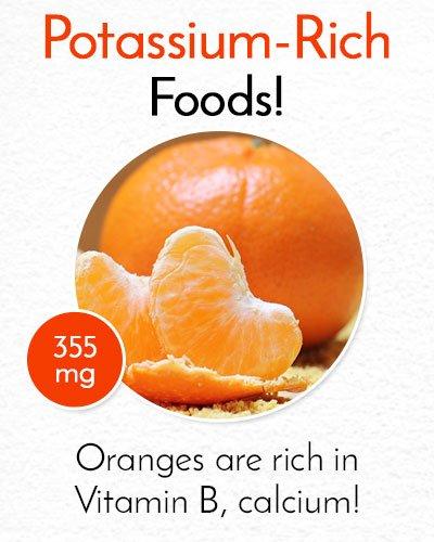 Potassium Rich Oranges