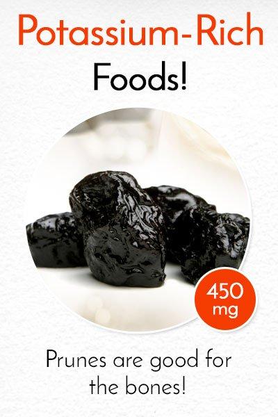 Potassium Rich Prunes