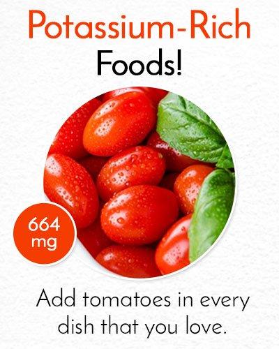 Potassium Rich Tomatoes