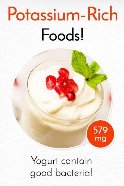 Potassium Rich Yogurt