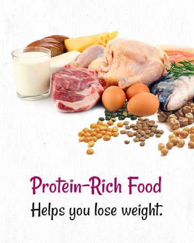 Protein Rich Food To Lose Weight