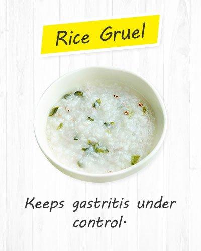 Rice Gruel For Gastritis