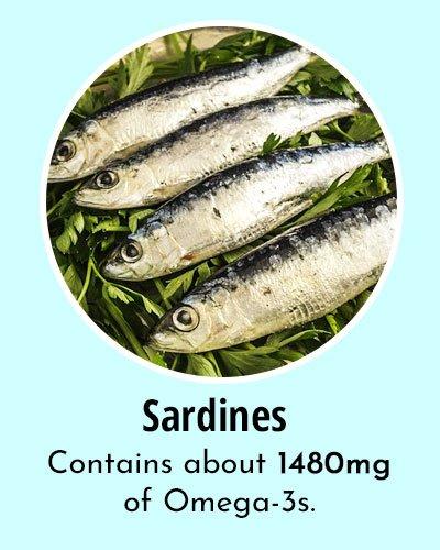 Sardines Omega 3 Rich Foods