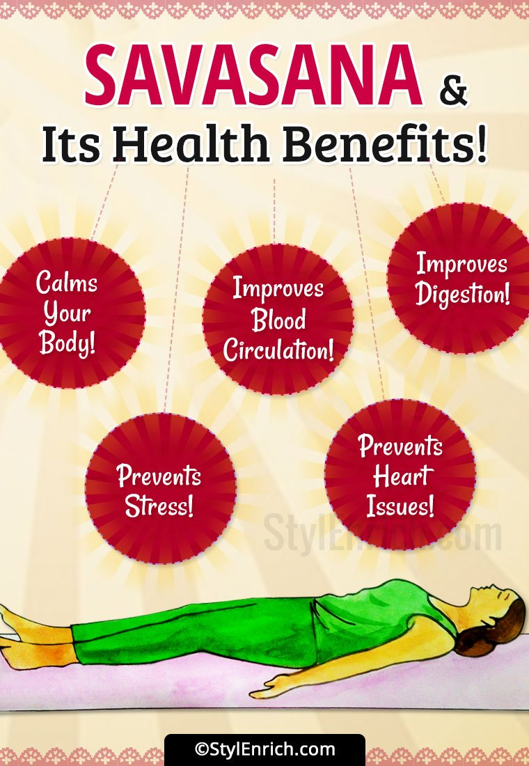 Savasana Benefits