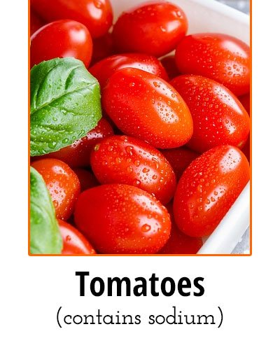 Tomatoes Low Sodium Food
