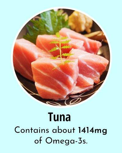 Tuna Omega 3 Rich Foods