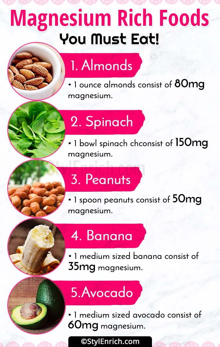 Foods To Eat To Get Magnesium