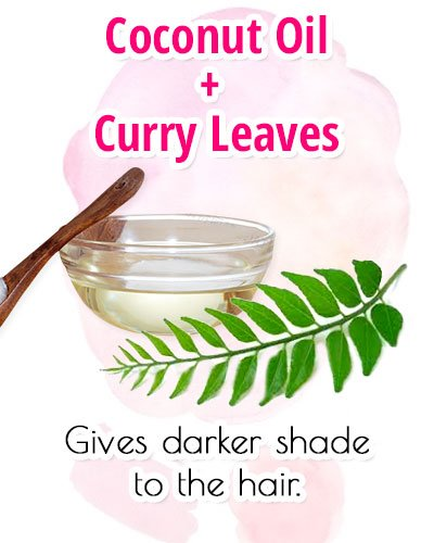 Coconut Oil With Curry Leaves For Premature Gray Hair