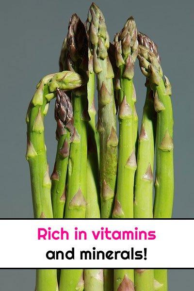 Asparagus For Varicose Veins