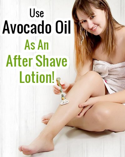 Avocado Oil After Shave Lotion