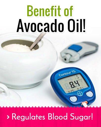Avocado Oil Regulates Blood Sugar