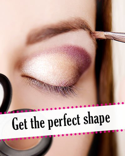 Get strokes on the brows