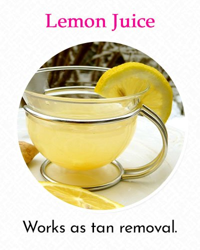 Lemon Juice To Fix Uneven Skin Tone