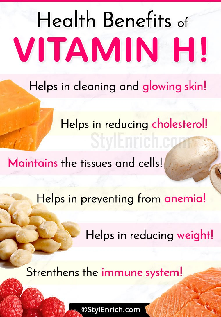 Health Benefits Of Vitamin H