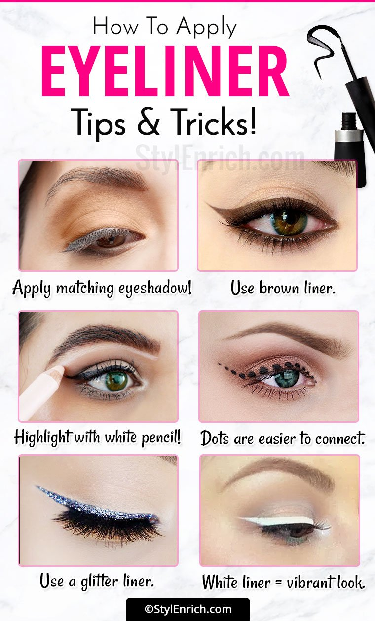 Welcome To Gabriel Atanbiyi Blog: Eyeliner Tricks : How To