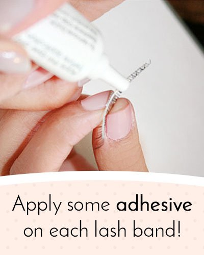 How To Apply Adhesive on Eyelashes