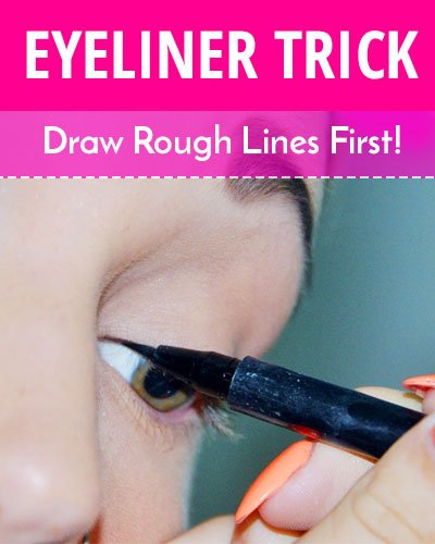 How To Draw Rough Eyelines?